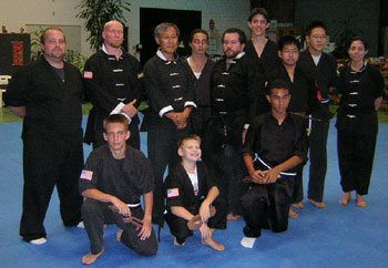 Black belt test picture