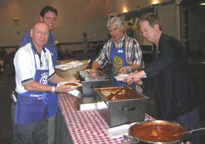 Jim McCary and Rotary members picture