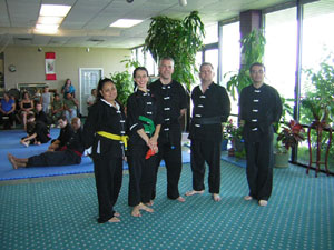 Kung Fu rank test picture