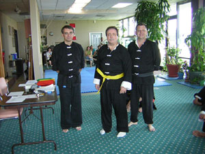 Wiliam Stanley Kung Fu rank test picture