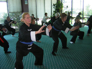 Tai Chi rank test on 3-24-12 picture
