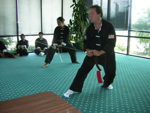 Tai Chi sword picture